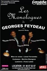 LES MONOLOGUES DE GEORGES FEYDEAU