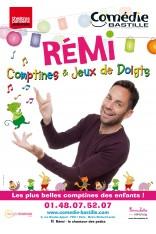 REMI, COMPTINES ET JEUX DE DOIGTS - NOUVEAU SPECTACLE